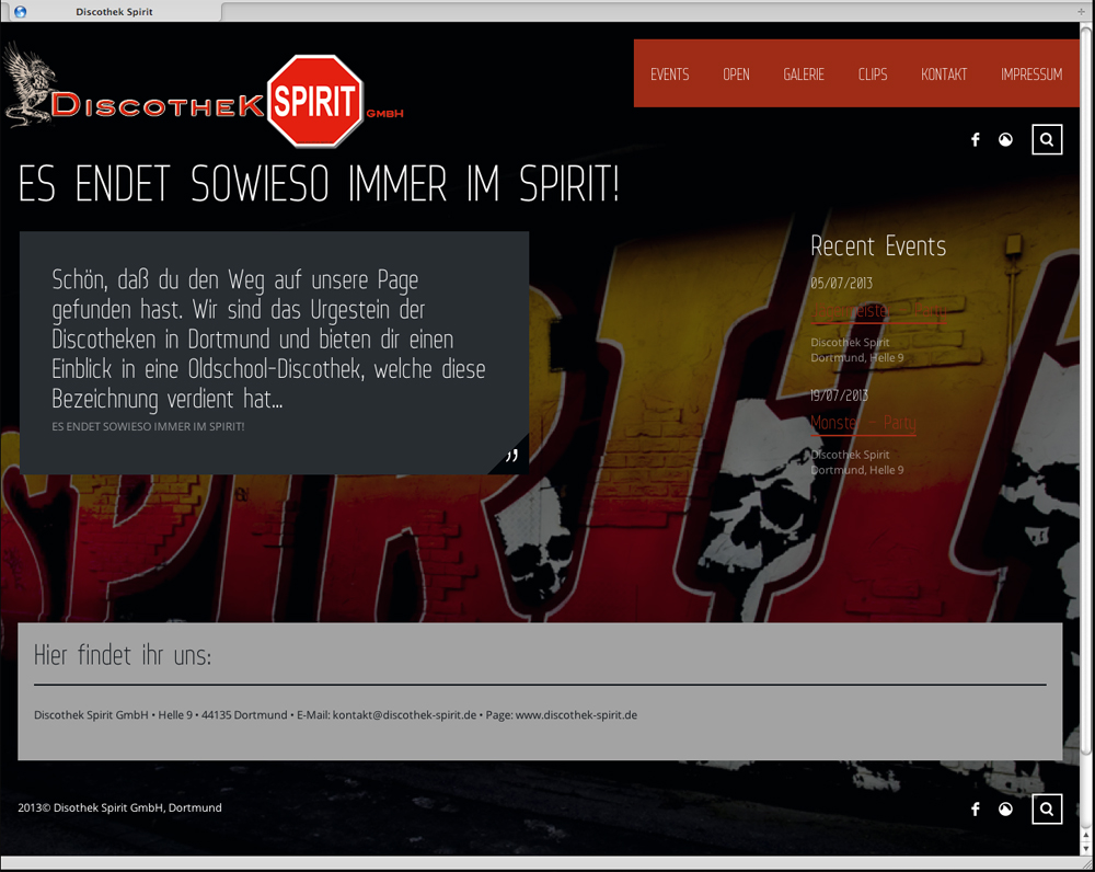 Discothek-Spirit