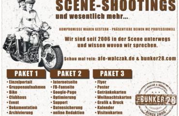 Biker Shooting Shootings für MC und Biker